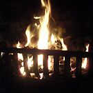 The fire. by Elissa  .