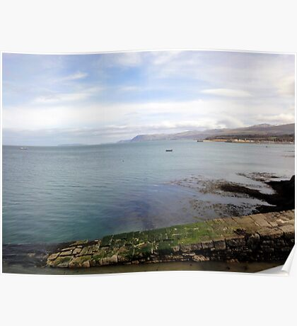 View from bangor pier Poster
