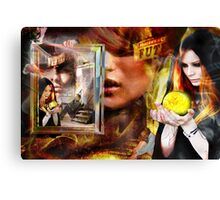Smoke and Mirrors Canvas Print