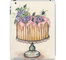 Cake No.2 - Watercolor  iPad Case/Skin