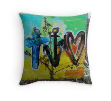 Faith, Hope & Love Throw Pillow