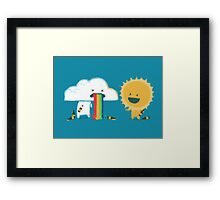 Binge drinking - such friend Framed Print