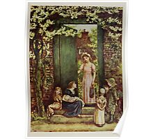Kate Greenaway Collection 1905 0073 The Open Door Poster