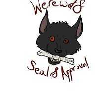 Werewolf Seal of Approval by sylvanknight