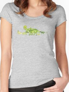 ceratopsians & co. Women's Fitted Scoop T-Shirt