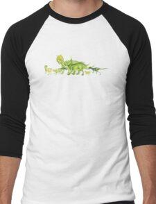 ceratopsians & co. Men's Baseball ¾ T-Shirt