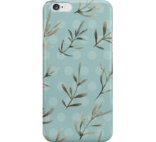 - Humble plant pattern - iPhone Case/Skin