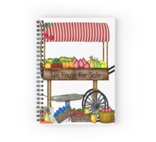 Les Fruit for Sale  Spiral Notebook