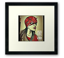 She Dares Framed Print