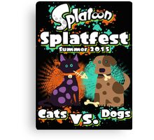 Splatfest 2015 v.2 Canvas Print