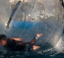 Tumbling in a bubble ball by davridan