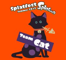 Splatfest Team Cat v.1 Kids Clothes