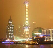 shanghai sous la pluie by thierryL