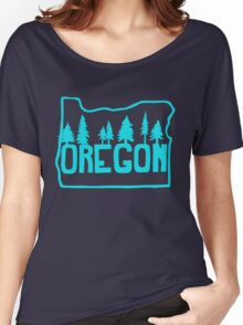 Oregon Evergreens Women's Relaxed Fit T-Shirt