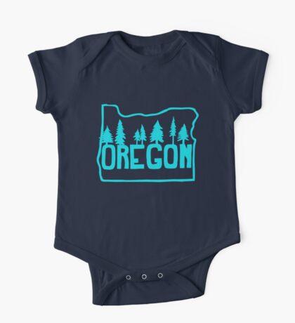 Oregon Evergreens One Piece - Short Sleeve