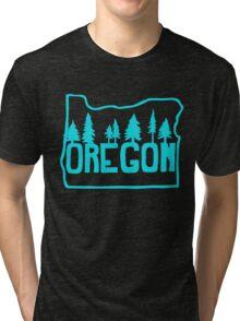 Oregon Evergreens Tri-blend T-Shirt