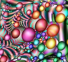 Jelly Beans & Easter Eggs by Carolyn Staut