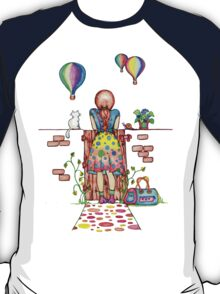 Daydreaming On The Garden Gate T-Shirt