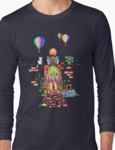 Daydreaming On The Garden Gate Long Sleeve T-Shirt