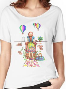 Daydreaming On The Garden Gate Women's Relaxed Fit T-Shirt