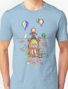Daydreaming On The Garden Gate Unisex T-Shirt