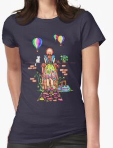 Daydreaming On The Garden Gate Womens Fitted T-Shirt