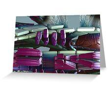 Seat Cushion Flotation Devices Greeting Card