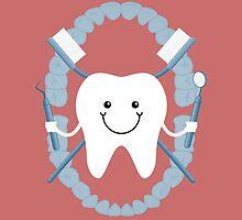Tooth and Crossbones by KingdomofArt