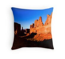 Stone Gods Throw Pillow