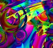 Tropical Flowers. by Vitta