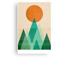 No Mountains High enough Canvas Print