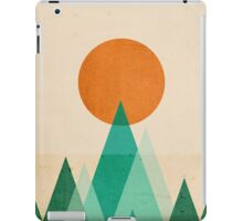No Mountains High enough iPad Case/Skin