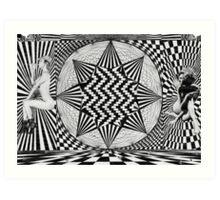 psychedelic sativa sweeties  Art Print