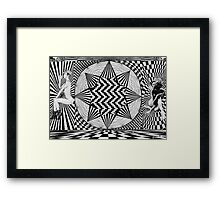 psychedelic sativa sweeties  Framed Print