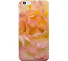 Rose and Rain - Pale Peaches, Pinks and Creams iPhone Case/Skin