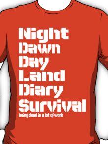Being Dead T-Shirt
