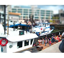 mini boat Photographic Print