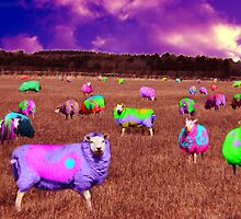 Sheep - Inspired by Pink Floyd  by Daisy-May