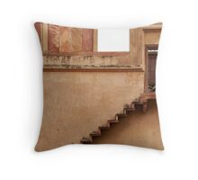 stairway to the past Throw Pillow
