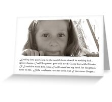 little soulmate Greeting Card