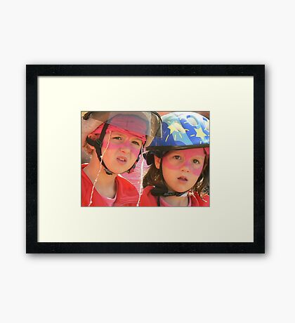 amazingly...attracted Framed Print