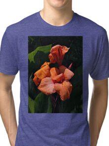 Orange is the color of enlightenment Tri-blend T-Shirt