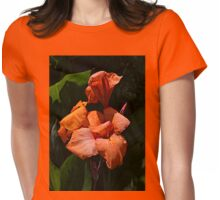 Orange is the color of enlightenment Womens Fitted T-Shirt