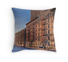 Street Light: West 135th Street, Harlem (HDR) Throw Pillow