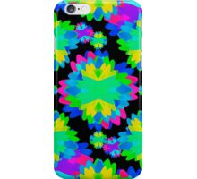 Multicolored Floral Print Geometric Modern Pattern iPhone Case/Skin
