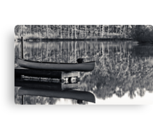old town canoe Canvas Print
