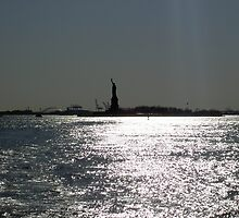 Liberty Island At Dusk by Paul Cryer