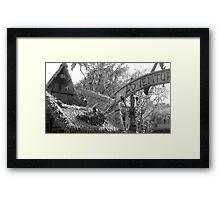 Adventure Tiki Framed Print