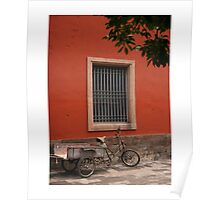 The Red Wall Poster