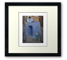 In the Medina Framed Print
